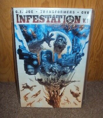 Infestation, Vol. 1 TPB IDW Publishing (Transformers & G.I. Joe)