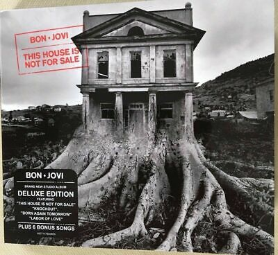 """BON JOVI : """"This House is not for sale + Live NYC 2016"""" (RARE 2 CD)"""