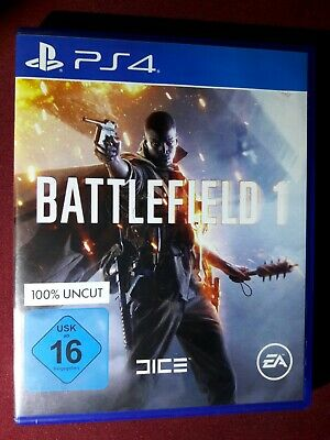 🌞 PS4 🌞 Playstation 4 Spiel = Battlefield 1 - 100% Uncut