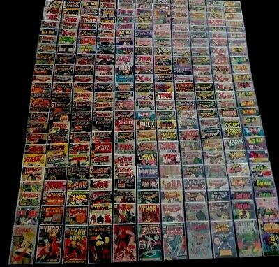 Silver age Comic Grab Bags,Marvel,DC,Spider-Man,Daredevil,Thor,Hulk,Avengers,