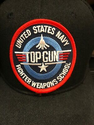 3d416145759 U.S NAVY TOP Gun Fighter Weapons School Hat Official Military Ball ...