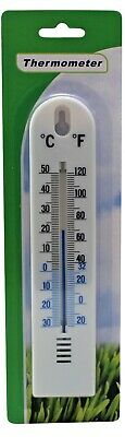 Wall Thermometer Office Home Garden Indoor Outdoor Multi-Purpose Greenhouse