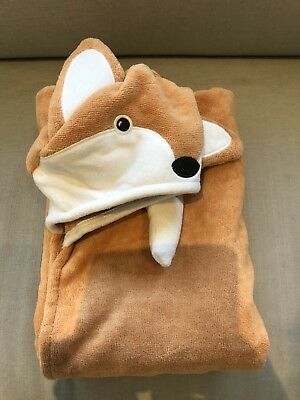 Pottery Barn Kids Fox Towel Personalised T