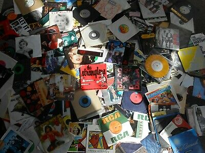 "330+Punk.new Wave Reggae.indie.joblot.7""vinyl Record Collection.full List,bowie"