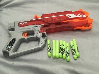 ** Nerf Zombie Strike Elite Rhino Fire Blaster and Darts **