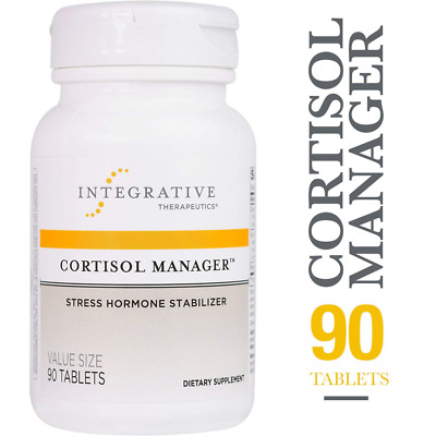 CORTISOL MANAGER | Integrative Therapeutics | Stress Hormone Stabilizer | 90 Tbs