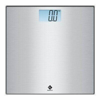 Etekcity Stainless Steel Digital Body Weight Bathroom Scale, Step-On Technology