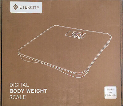 Etekcity Ultrawide Digital Body Weight Bathroom Scale, Step-On Technology
