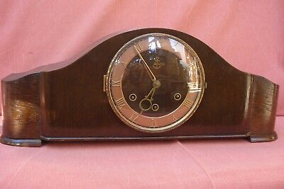 Antico Orologio Da Camino Westminster  '' Danker '' West Germany