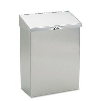 Wall Mount Sanitary Napkin Receptacle Stainless Steel 8 in. x 4 in. x 11 in