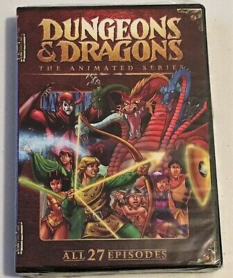 Dungeons & Dragons - The Complete Animated Series (DVD 2009 3-Disc Set) Fantasy