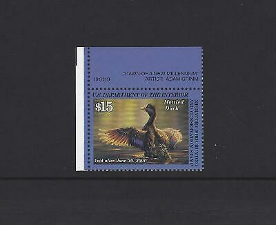 Federal Duck Stamp RW67 Mint NH