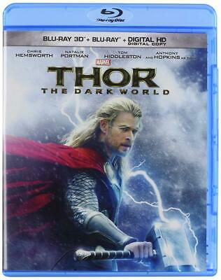 Thor: The Dark World [Blu-ray 3D + Blu-ray + Digital Copy] (Bilingual)