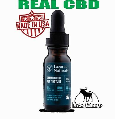 Cbd Oil for Dogs Cats Pets voted best  Anxiety Relief Hemp Calming Drops