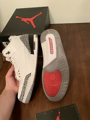 Nike Air Jordan Retro 3 White Cement 2011 Size 14 VNDS 100% Authentic With  Box c404bbd81