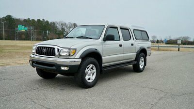 2002 Toyota Tacoma DoubleCab V6 Auto 4WD (Natl) TOYOTA TACOMA TRD / 69K MILES / 2 OWNERS / PRISTINE / 4X4 / CAMPER SHELL