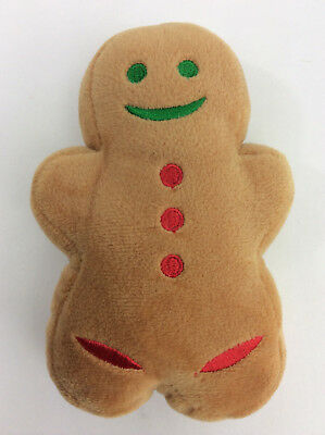 Just Born Peeps Gingerbread Man Plush 5 Mini Christmas Plush