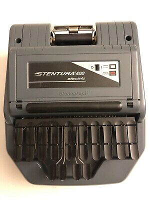 Stenograph Stentura 400 Electric Court Reporter Machine