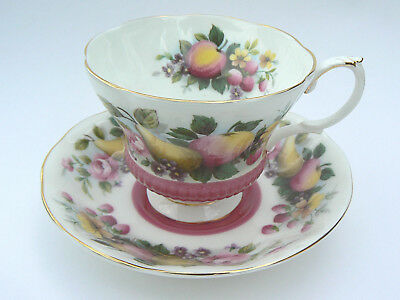 Vintage Royal Albert Country Fayre Surrey Teacup and Saucer Bone China England