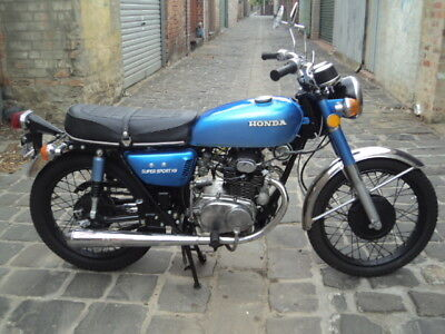Honda Motorcycle - 1972 CB175 K6 Supersport