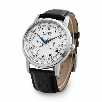 Citizen Eco-Drive AO9000-06B Leather Strap 42mm Men's Watch