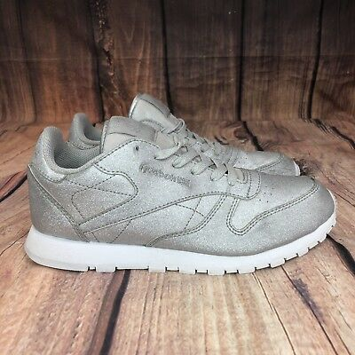 fcc5d2ff8a76 Reebok Classic Leather Sneakers Kids Size 5 Women Size 7 Ortholite Soles  059503