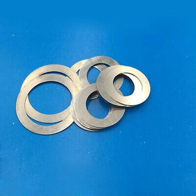 M3 M4 Ultra-thin Flat Washers Small outer diameter Flat Gasket 0.1-0.5mm Thick