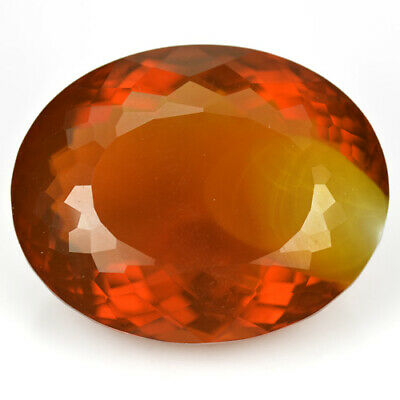 26.20Ct HUGE COLLECTORS GEM ! RED MOTHER FIRE OPAL FROM MEXICO