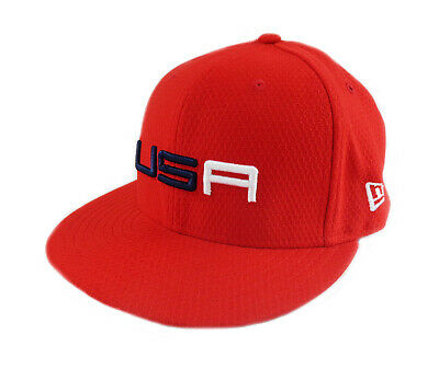 985eb833e6c NEW 2018 New Era 59Fifty USA Ryder Cup Sunday Round Fitted Flatbill 7 3 8