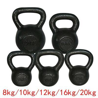 8/10/12/16/20kg Kettlebell Strength Training Home Gym Fitness Workout Kettlebell