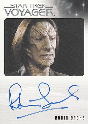 Star Trek Voyager Quotable 2012 Robin Sachs autograph