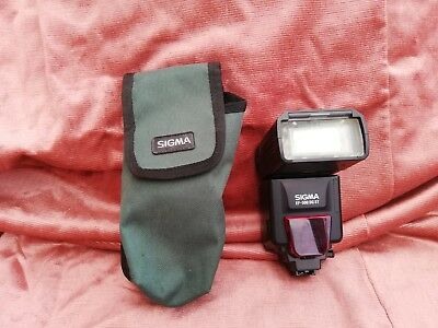 Sigma EF-500 DG ST Shoe Mount Flash for Sony DSLR or Minolta with extras
