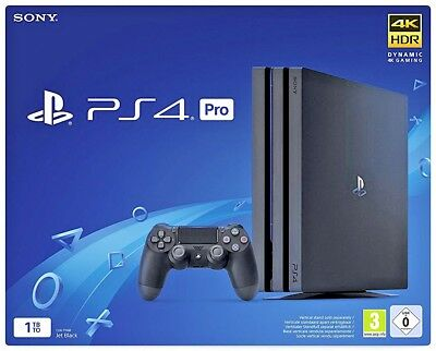 Playstation 4 Pro Ps4 1 Tb Chassis B Gamma 4K Hdr 9773313 Cuh-7216B Console Sony