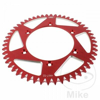 Husqvarna WR 125 1997 JMP Red Aluminium Rear Sprocket (52 Teeth)