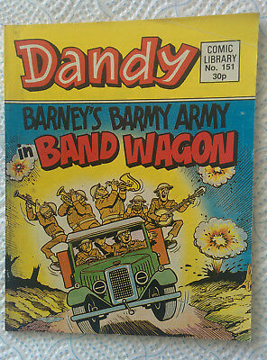 "Dandy Picture Library #151 Barney's Barmy Army in ""Band Wagon"""
