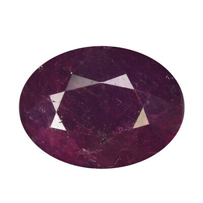 """4.94Ct """"AGL"""" CERTIFIED ! UNHEATED PIGEON BLOOD RED RUBY"""