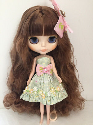 "SPECIAL PRICE OOAK Takara 12"" Nude Blythe Neo Doll From Factory Free Eye Chips"