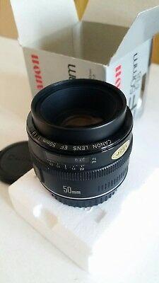 Canon EF 50mm F/1.8 Lens boxed working