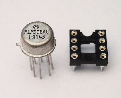 Vintage 1981 LM308 IC for PROCO RAT Distortion Pedal Genuine Motorola ~FuzZ~ NOS