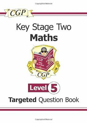 KS2 Maths Question Book: Level 5 - for SATS until 2015 only: Level 5-Cgp Books
