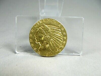 Goldmünze-5 Dollars USA 1911-Indian Head-900er Gold-8,36 Gramm-Art. 4922