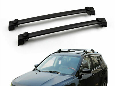2011-2016 Aluminium alloy Cross Roof Rack Bars Luggage Carrier For Jeep Compass