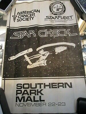 Star Trek Starfleet American Cancer Association Meeting Posters