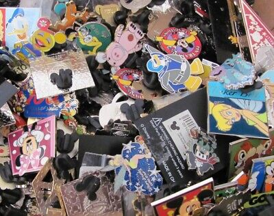 Disney Pin Trading Authentic Grab Bag Lot Of 10 Random Pins All Authentic Real