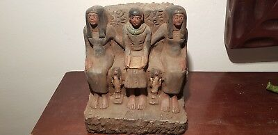 Rare Antique Ancient Egyptian Statue Architect Imhotep step pyramid2687-2668BC