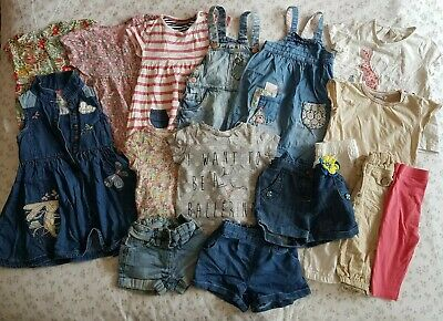 Girls Next Summer Bundle 18-24 Months Dresses Tops Shorts Cropped Trousers Lots!