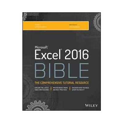 Microsoft Excel 2016 Bible by John Walkenbach (author)