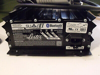 Lester model 30400 Summit II 3+1 Battery Charger  (Bluetooth Smart)