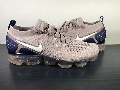 SZ 9.5 Nike Air VaporMax Flyknit 2 Diffused Taupe Phantom 942842-201 Mens Shoes