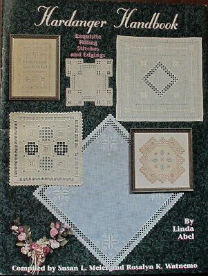 Hardanger Handbook Filling Stitches & Edgings Counted Thread Chart/Pattern